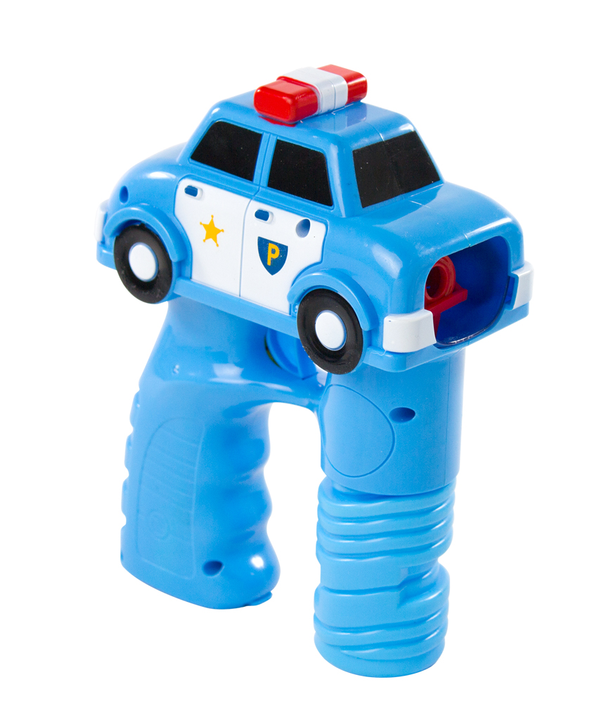 LED 5.5 Inch Bubble Gun - Police Car